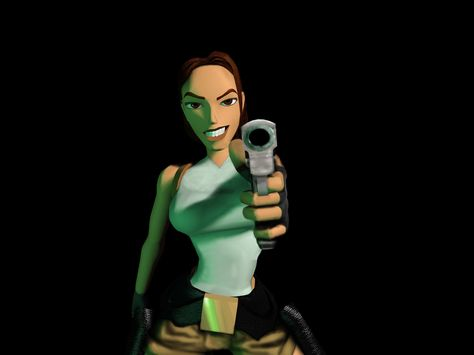 Old Lara Croft Lara Croft 1 1024x768 Tomb Raider Y La