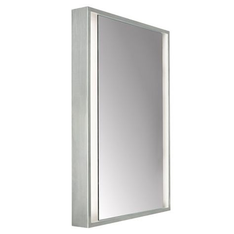 Siber Led Mirror Mirror Kit Tech Lighting Bath Vanities