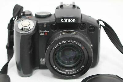 Canon Powershot S5 Is 8 0mp Digital Camera Digital Camera Powershot Canon Powershot