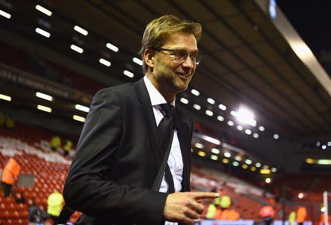 Jurgen Klopp Photos Photos: Liverpool v Manchester United - UEFA Europa League Round of 16: First Leg