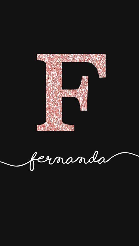 Wallpaper Fernanda Glitter Rosê by Gocase, Wallpaper Fernanda Glitter Rosê by Gocase, glitter, nome, manuscrito, aline, gocase, lovegocase, wallpaper, name, fundo de tela, background, #lovegocase, #gocase, #wallpaper, #nome, #fernanda