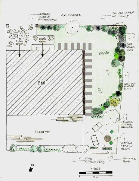 Plan De Masse Jardin Asiatique Par Le Jardin Qui Bouge Asiatique