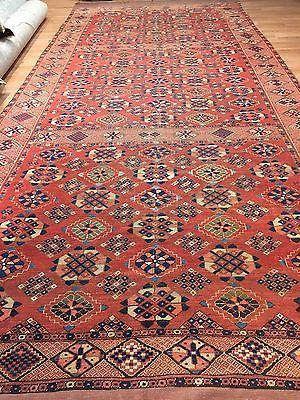 Beautiful Bashir 1870s Vintage Afghan Rug Tribal Gallery Turkmen 6 7 X 15 9 Ebay Vintage Afghan Rug Vintage Persian Rug Rugs