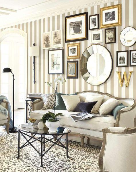 Come appendere i quadri in soggiorno   Idee per la casa nel ...
