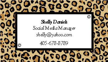 Leopard gift tags leopard print animal print cheetah tags gift tags business cards leopard print by prettyprintstx reheart Image collections