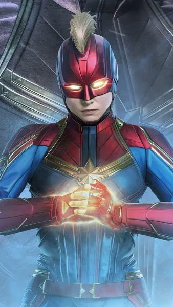 Avengers Endgame Captain Marvel 4k 3840x2160 Wallpaper Marvel Superheroes Avengers Wallpaper Marvel Art