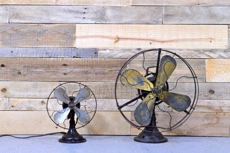 235€.Fan de grand Vintage GE General Electric Fan au par ScoutandForge