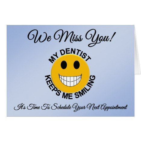 Dentist Dental Patient Appointment Reminder Card Zazzle Com Card Templates Printable Appointment Cards Checkup