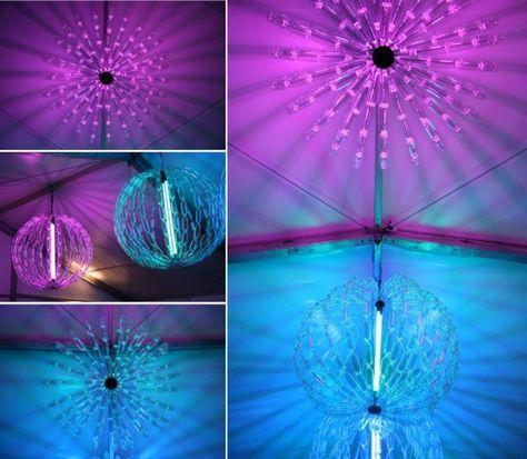 Lampe Led Selber Machen Plastikflaschen Bastel Ideen Lampen