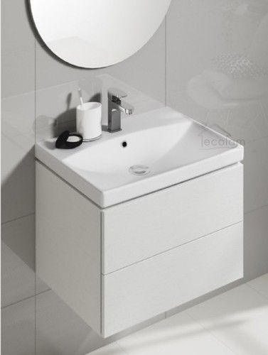 Badmobel Waschbecken City 50 Cm Schrank Grifflos Optional Click Clack Siphon Waschbecken Moderne Waschbecken Waschbeckenunterschrank