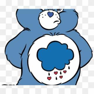Castle Clipart Care Bears Grumpy Care Bear Svg Hd Png Download Care Bear Grumpy Care Bear Bear Silhouette