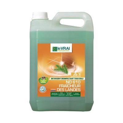 Detergent Et Desinfectant Sans Javel Nd 610 Fraicheur Des Landes En 2020 Desinfectant Detergent Fosse Septique