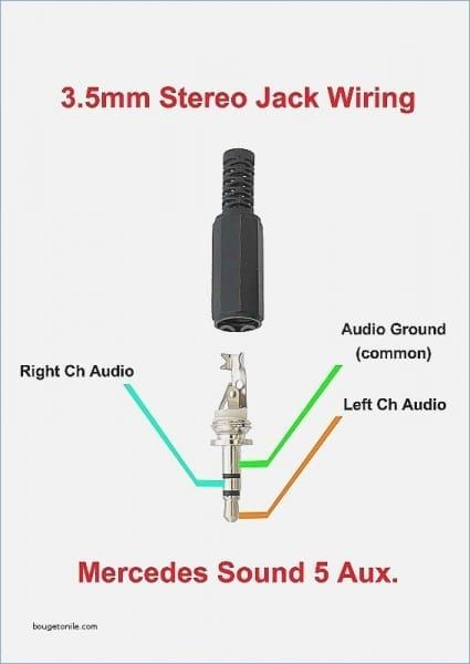 wiring diagram for 3 5 mm jack  parlantes