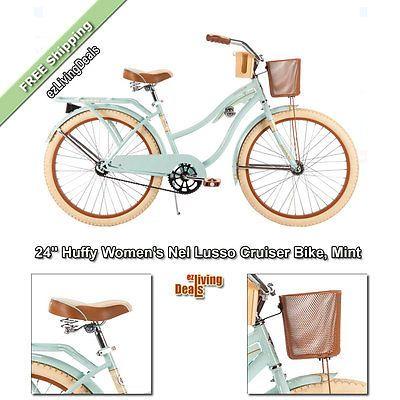 Huffy Bikes For Girls 24 Inch Nel Lusso Cruiser Bike Beach Women
