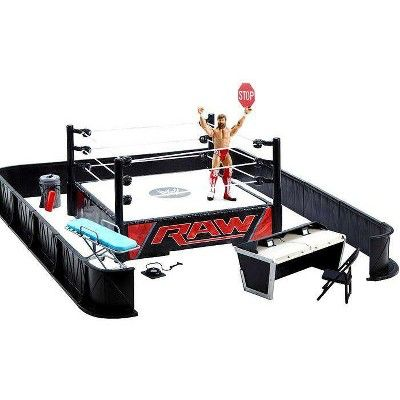 WWE WREKKIN FIGURE AJ STYLES PUNCHING WITH 2 x CHAIRS