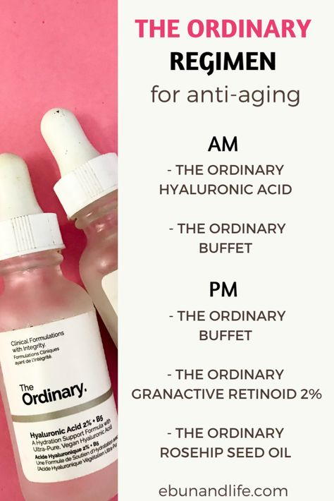 Have you began to notice signs of ageing and you're looking for the right anti-aging products to use? Try The Ordinary Skincare Routine Anti-Aging. #antiaging #antiagingskincare #theordinaryskincare #skincareover50 #beautyhacks