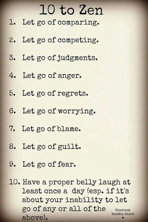 """This week's class theme in Body Positivity Yoga is """"Letting Go"""". Here's some things you can let go of..."""