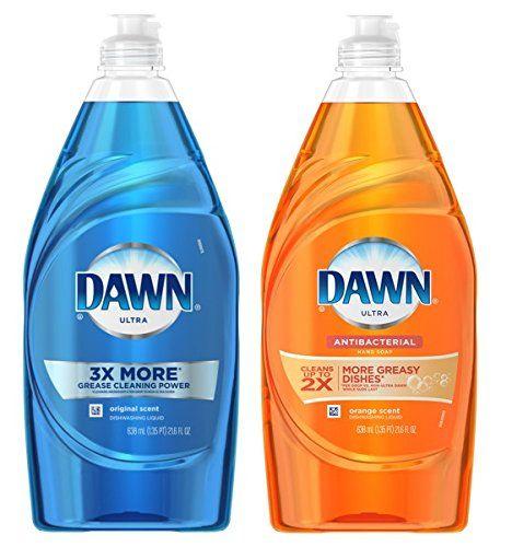 Dawn Ultra Dishwashing Liquid Soap Original Scent Blue And A B