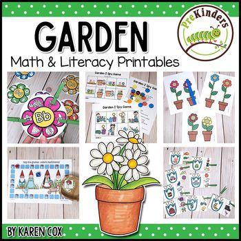 Spring Activities And Centers For Preschool Pre K And Kindergarten Pocket Of Preschool Spring Activities Spring Preschool Spring Kindergarten