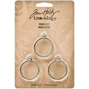 Metal Timepieces by Tim Holtz Idea-ology 5 per Pack Various Sizes TH92831 Antique Finishes