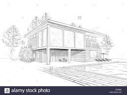 Croquis De Maison Noir Blanc Recherche Google Dessin Architecte Dessin Architecture Croquis Maison
