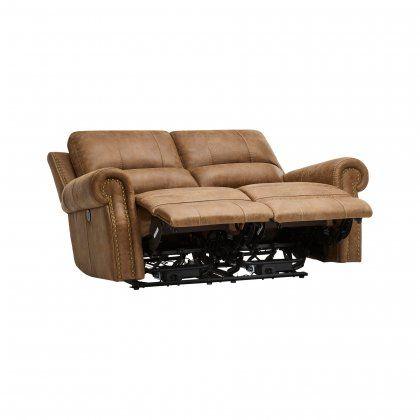 Peachy Brown Fabric Sofas 2 Seater Electric Recliner Sofa Uwap Interior Chair Design Uwaporg