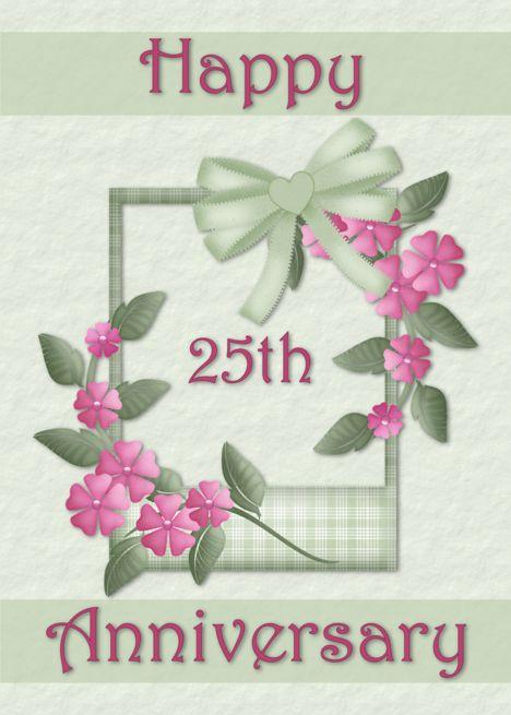 Happy 25th Anniversary Card Ad Ad Happy Card Anniversary Employee Anniversary Cards Wedding Anniversary Cards Happy 25th Anniversary