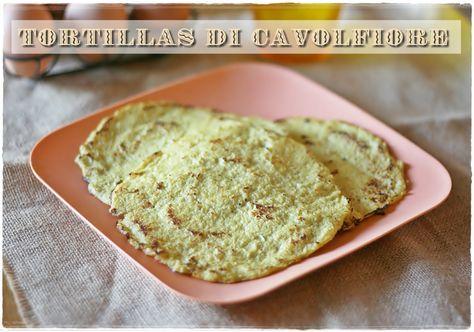 Cauliflower tortillas - bake 350°F