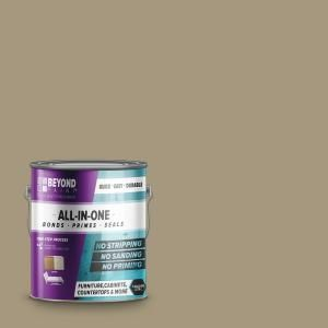 Beyond Paint 1 Gal Pebble Furniture Cabinets Countertops And More Multi Surface All In One Interior Exterior Refinishing Paint Bp19 The Home Depot Beyond Paint White Interior Paint Flat Furniture