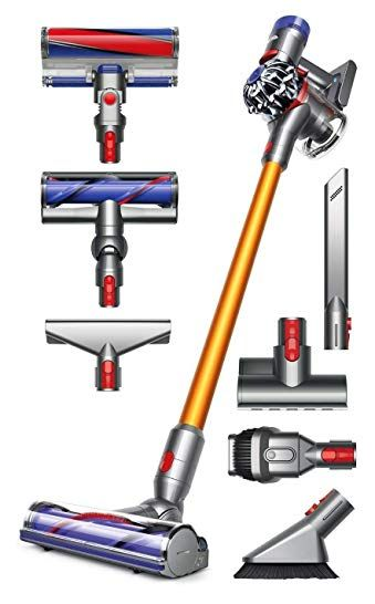 Dyson V8 Absolute Cordless HEPA Vacuum Cleaner + Manufacturer's ...