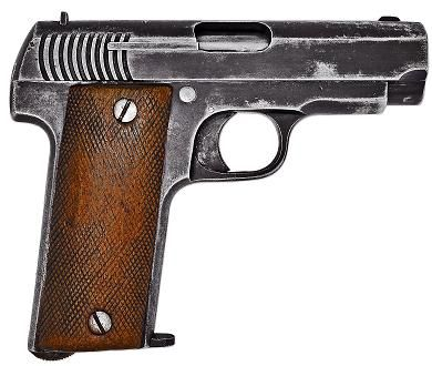 French Model 1915 ''Ruby'' 7mm Pistol | Firearms | Guns, Hand guns