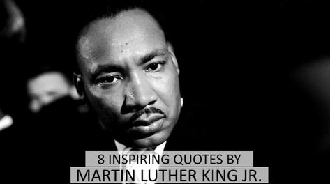 Martin Luther King Jr. was an American Baptist minister and activist who was a leader in the Civil Rights Movement. He is best known for his role in the advancement of civil rights using nonviolent civil disobedience based on his Christian beliefs. These Martin Luther King Jr. quotes provide insight into the kind of man he was, as well as stir inside us a great feeling of inspiration. Here are 8 famous and Inspiring Quotes by Martin Luther King Jr.  Watch more: 21frames.in/yogaandyou Like us:...