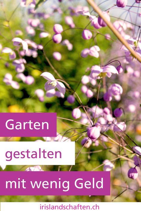 Garten Gestalten Mit Wenig Geld Gardening Garten Gestalten