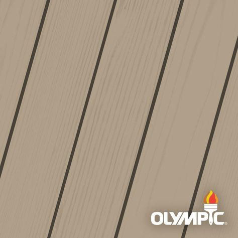 Olympic Maximum 5 Gal Taupe Solid Color Exterior Stain And