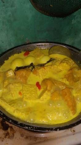 Resep Sayur Santan Kuning Tahu Tempe Telur Oleh Mutiara Aisyah Resep Resep Tahu Masakan Simpel Resep Masakan
