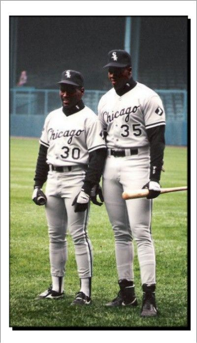 Tim Raines Frank Thomas White Sox Baseball Chicago White Sox Baseball Uniforms