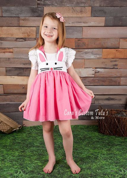 Don't forget the bunnies - Cute Easter Clothes for Kids on Etsy - Photos
