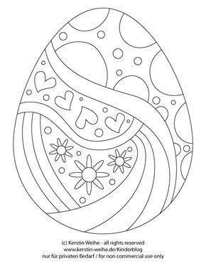 Osterei Malvorlage27032013 Malvorlagen Ostern Ostern Malen Und Spruche Ostern