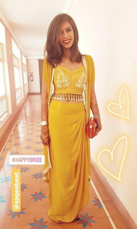 Beautiful yellow blouse