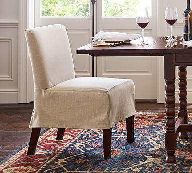 Pb Clic Dining Chair Slipcover Arm
