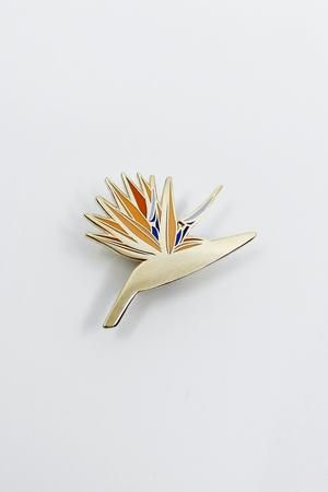 Bird Of Paradise Pin Birds Of Paradise Birds Of Paradise Flower Cloisonne Pin