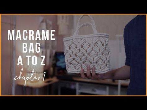 [Eng sub]Macrame Bag A to Z - chapter1.