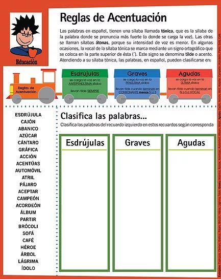 35 Reglas De Acentuación Ideas Teaching Spanish Spanish Grammar Learning Spanish