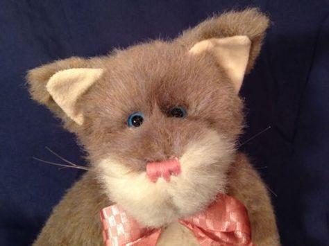 Boyds Bears Gray/Beige Cat