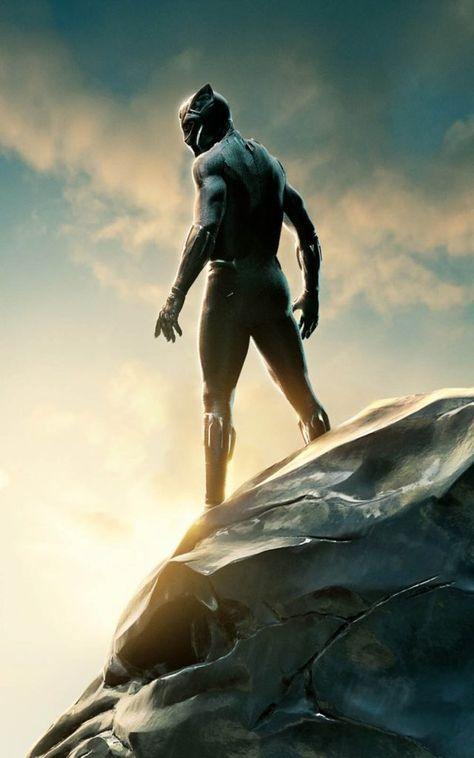 Black Panther 2018 Movie 4K Ultra HD Mobile Wallpaper