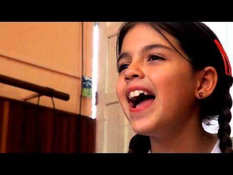 El coro de niños de Modulando interpretan