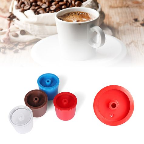 Reusable Coffee Filter Capsule Refillable Capsulone Cups For