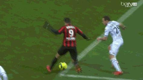 Hatem Ben Arfa Dribble vs Angers