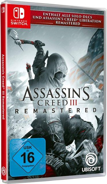 Assassin S Creed 3 Remastered Nintendo Switch Assassins Creed