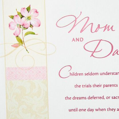 Love And Pride Anniversary Card For Mom And Dad Greeting Cards Hallmark Anniversary Cards Cards Anniversary Greeting Cards